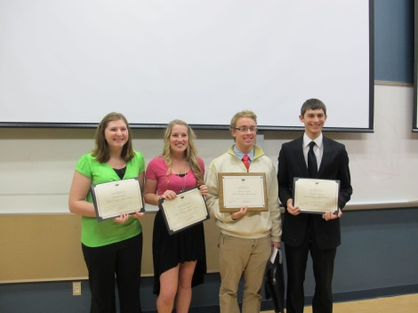 11th Annual Honors Speech Contest