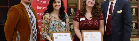 Outstanding Leaders, Spring 2014 LeAnne Barstow and Maddie Herbart