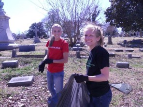 Elmwood Cemetery Clean-up