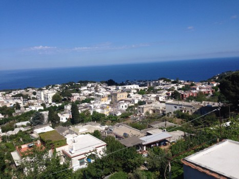 Capri, Photo by Alex Costa, used with permission by the Honors Program at Ferris State