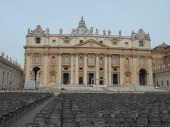 St. Peter's Basilica in Vatican City, Photo by Zachary Kramer, used with permission by the Honors Program at Ferris State