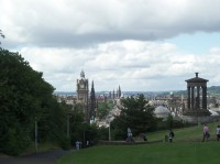 Calton Hill, Edinburgh, Photo by Kathryn Wilson, used with permission by the Honors Program at Ferris State