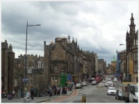 Edinburgh, Photo by Kathryn Wilson, used with permission by the Honors Program at Ferris State