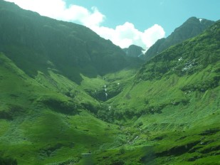 Glen Coe, Photo by Kathryn Wilson, used with permission by the Honors Program at Ferris State