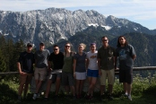 Group Austrian Alps, Photo by Dan Ruland, used with permission by the Honors Program at Ferris State