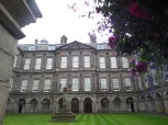 Holyrood Palace, Holyrood Park, Photo by Kathryn Wilson, used with permission by the Honors Program at Ferris State