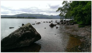 Loch Lomond. Photo by Kathryn Wilson, used with permission by the Honors Program at Ferris State