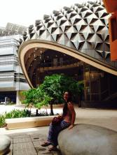 Masdar City, Photo by Melanie Lobsinger, used with permission by The Honors Program at Ferris State