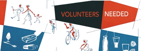 Volunteers Needed! Image cc-licensed from Flickr User allerleirau: https://www.flickr.com/photos/allerleirau/3055324673/in/pool-goldenageofadvertising