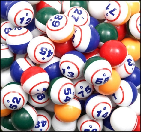 Bingo-balls By Digby Fire Department Available through Flickr image