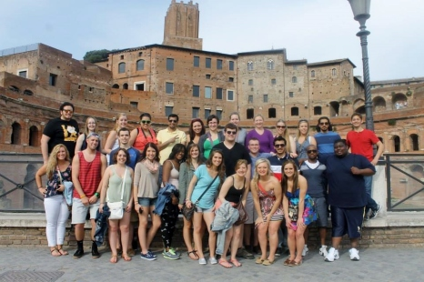 First Day in Italy. Photo Courtesy of Abigail Timmerman/Ferris State University Honors Program