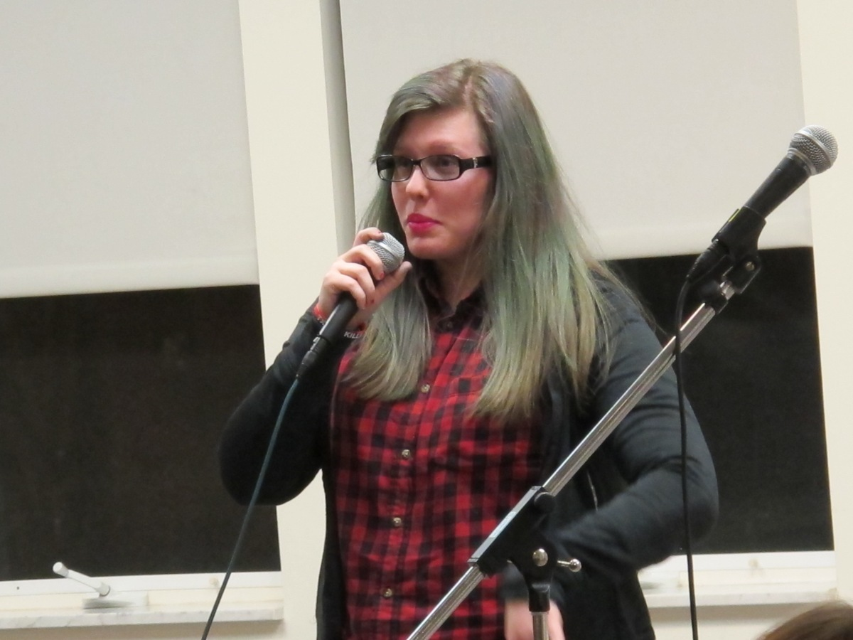 Cheyenne - Stand-up Comedy Act/Photo courtesy of The Honors Program at Ferris State University
