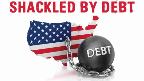 "Provided courtesy of Jon Chulski and Americans for Prosperity Foundation via Erin Moore ""Shackled by Debt"" poster Link: https://mail.google.com/mail/u/0/?ui=2&ik=59657edef5&view=att&th=14cb418db4334c3a&attid=0.1&disp=inline&safe=1&zw"