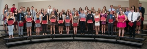 Honors 4.0 Recipients. Courtesy of SmugMug with permission from Ferris State University