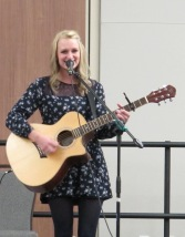 "Megan McCormick performs ""Singing a Roar/Brave"" Medley by Katy Perry and Sara Bereilles. Courtesy of Ferris Honors"