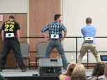 Junk in the Trunk Crowd Participation. Courtesy of Ferris Honors