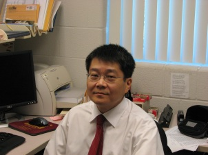 Professor Kent Sun. Courtesy of Kent Sun.