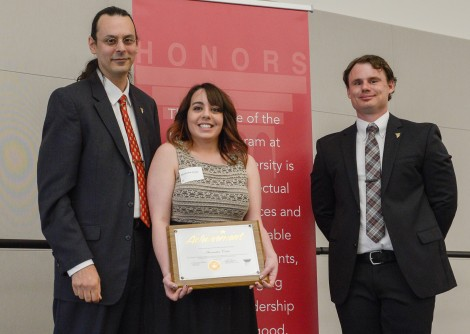 Outstanding Scholar finalist, Alex Costa. Courtesy of Ferris State University's SmugMug.