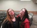 Silly Emcees Bianca and Jessica. Courtesy of the photographer.