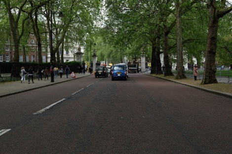 Street in London. Courtesy of honors student, Lauren Stefl.