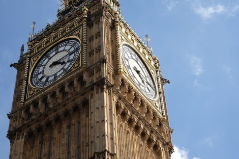 Big Ben, London. Courtesy of honors student, Lauren Stefl.
