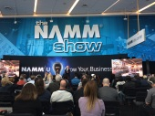 NAMM Conference. Courtesy of the photographer, honors student, Bianca Broniec.