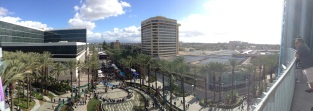 Hotel View. Courtesy of photographer and honor student, Daniel Amrhein.