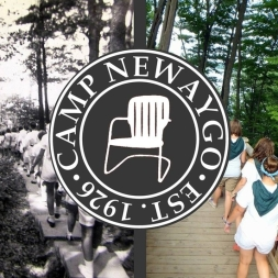 Camp Newaygo Logo. Courtesy of the Volunteer Center at Ferris State University. https://orgsync.com/18804/news_posts/212320