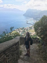 C. Bailey in Italy. Courtesy of Caitlyn Bailey.
