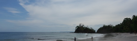 Costa Rican Shore. Courtesy of Honors student, April Wilson, at Ferris State University.