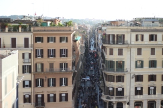 Italian Street. Courtesy of Ferris State University Honors Student, Madison Osgood.
