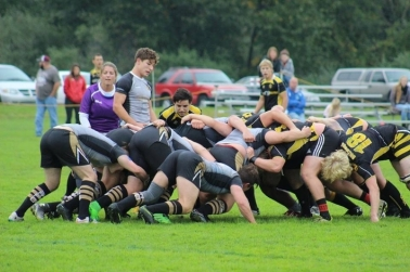 Rugby Team. Courtesy of the Volunteer Center at Ferris State University. https://orgsync.com/18804/news_posts/234705