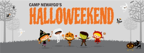Camp Newaygo Halloweekend Banner. Courtesy of the Volunteer Center at Ferris State University.
