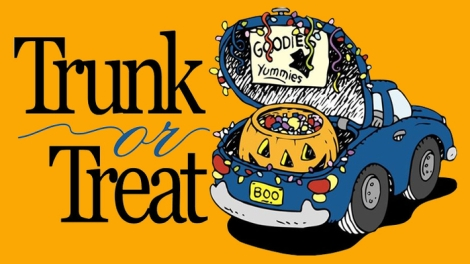 Trunk or Treat Flyer. Courtesy of the Volunteer Center at Ferris State University.