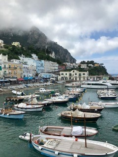 Boats in Italy. Courtesy of Honors student, Angela Nguyen.
