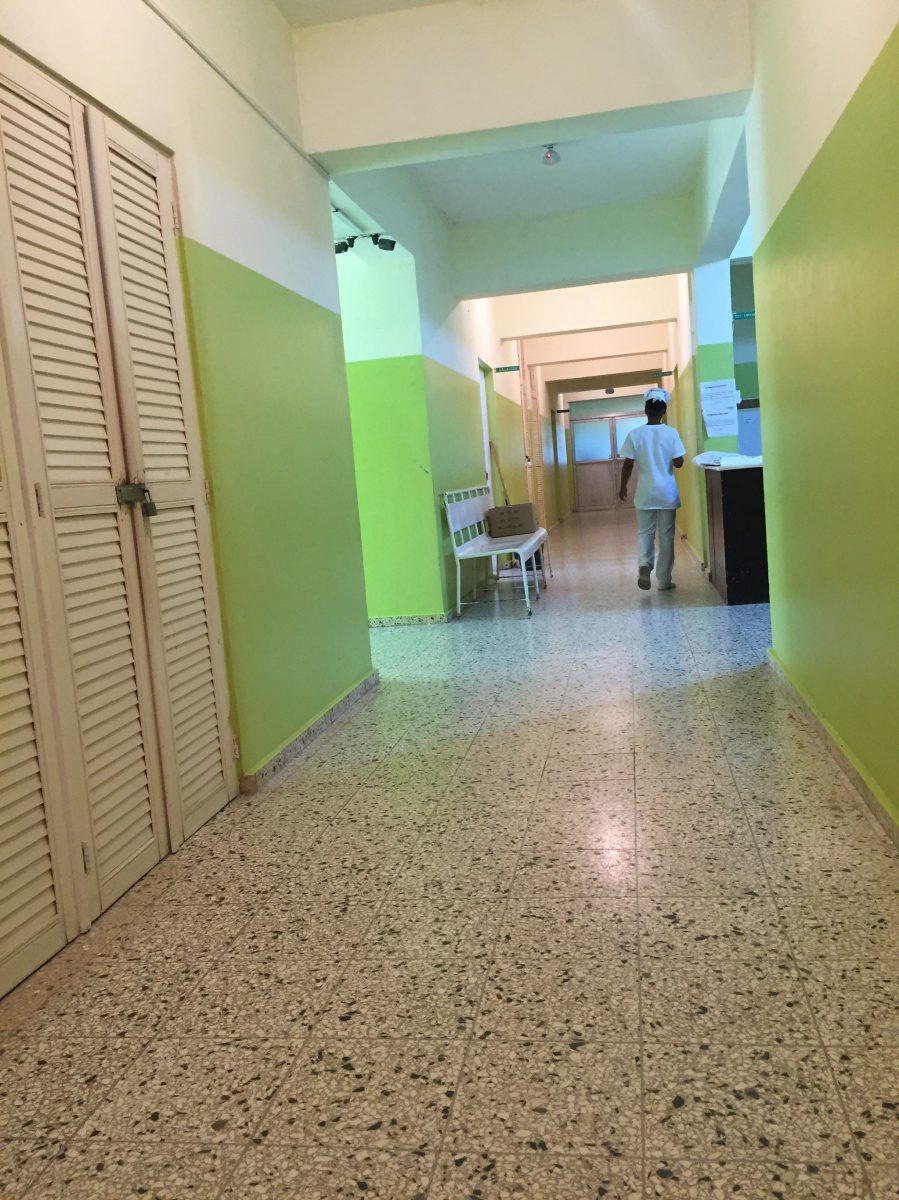Hospital in Dominican Republic. Courtesy of Honors student, Cindy Tran.
