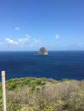 Rock formation in ocean. Courtesy of Honors student, Hope Orent.