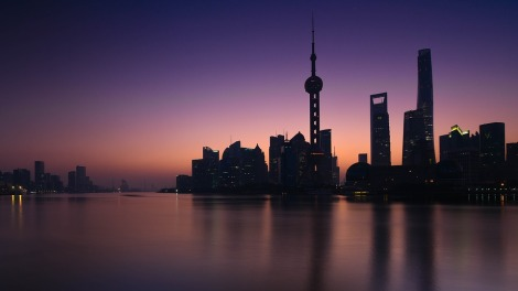 Shanghai Huangpu River, CC0 licensed, from Pixabay https://pixabay.com/en/shanghai-huangpu-river-sunrise-2446323/