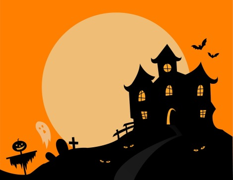 Halloween Spooky Haunted House Scary Haunted